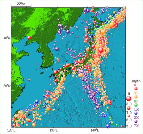 地震 日本